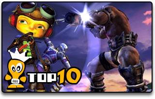 etykieta Top 10 PS2