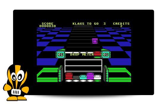 8bit nora klax c64