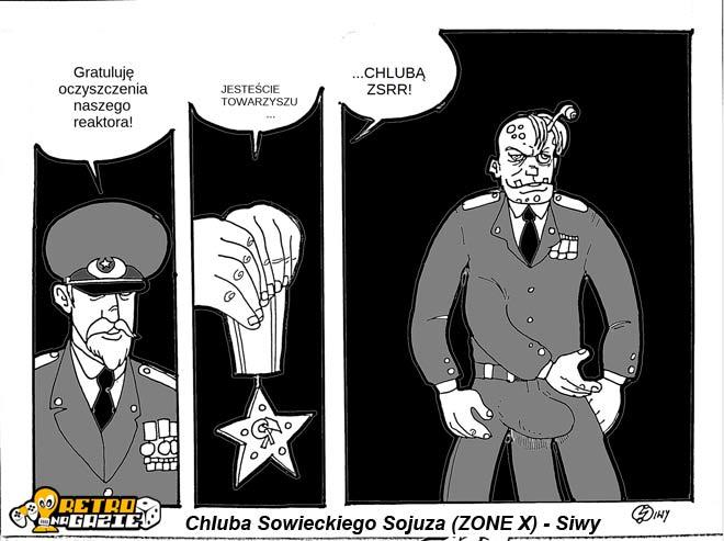 Zone X komiks siwydym