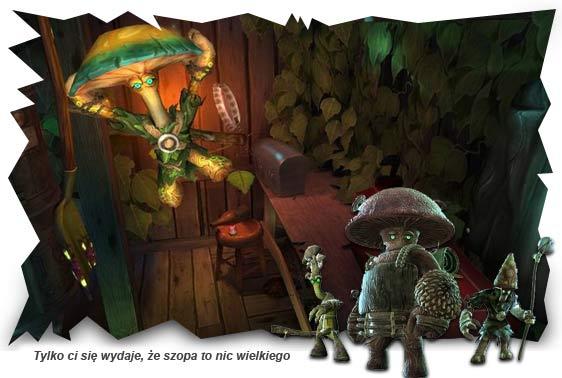 Mushroom Men Wii recenzja