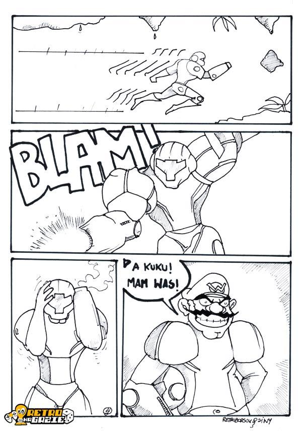 Metroid komiks siwydym