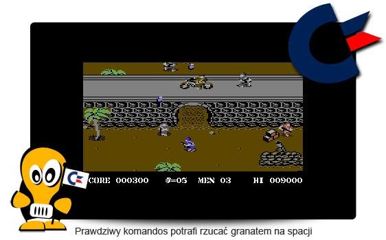 Commando C64 recenzja