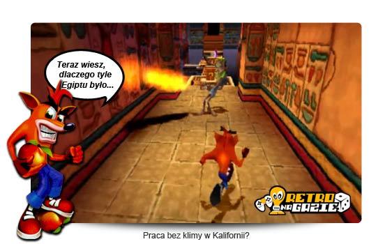 Spyro i Crash Universal felieton