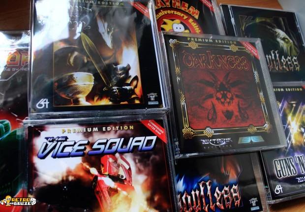 C64 kolekcja nowych gier Psytronik