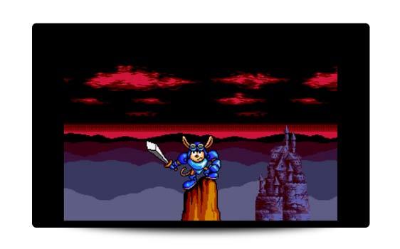 Rocket Knight Adventures Sega recenzja