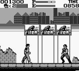 Kung Fu Master Gameboy