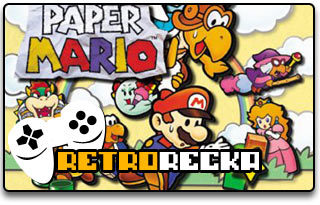 Paper Mario Nintendo 64 recenzja