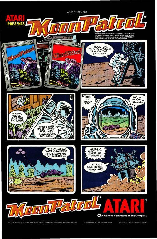 Moon Patrol Komiks