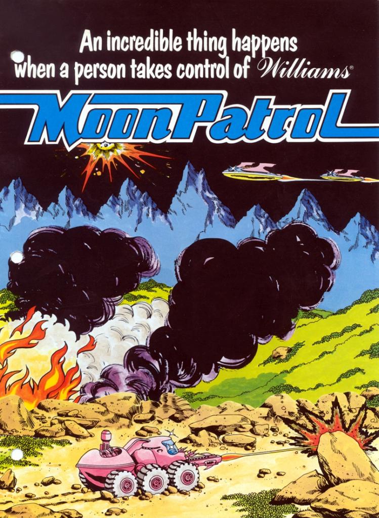 Moon Patrol Reklama