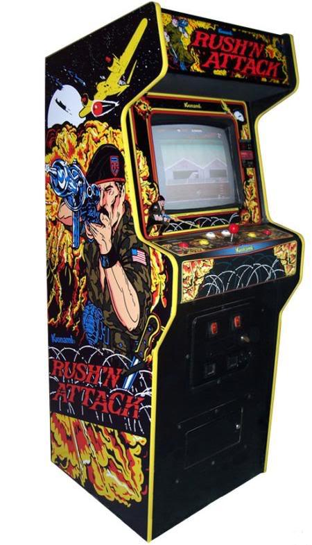 arcade machine side