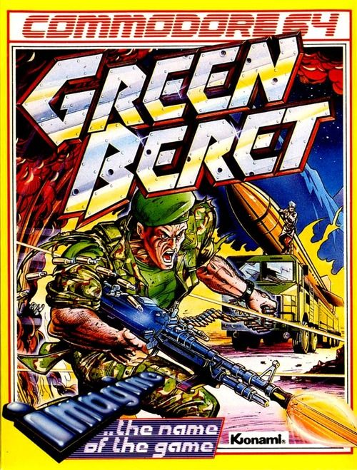 Green Beret Commodore Poster