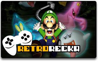 Luigi's Mansion recenzja gamecube