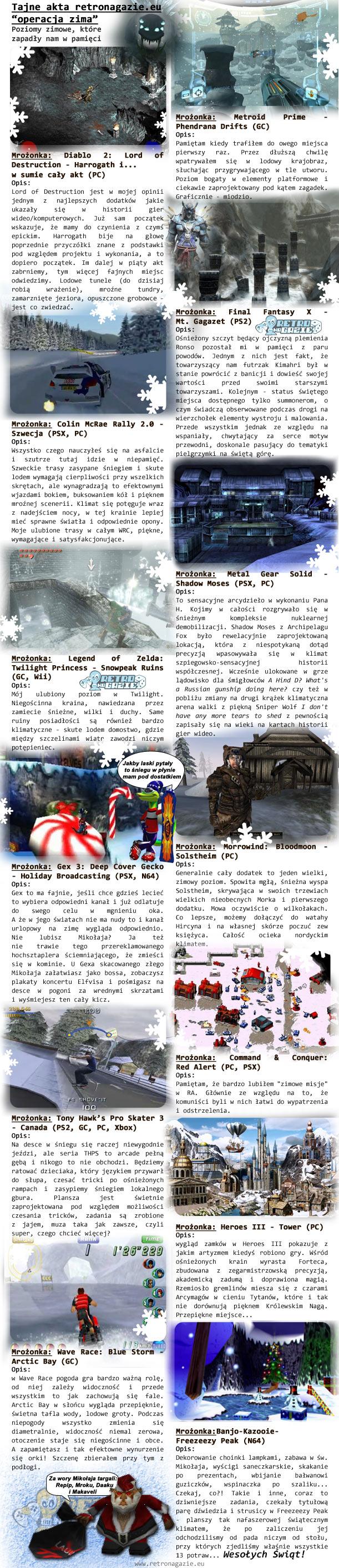 gry levele zimowe