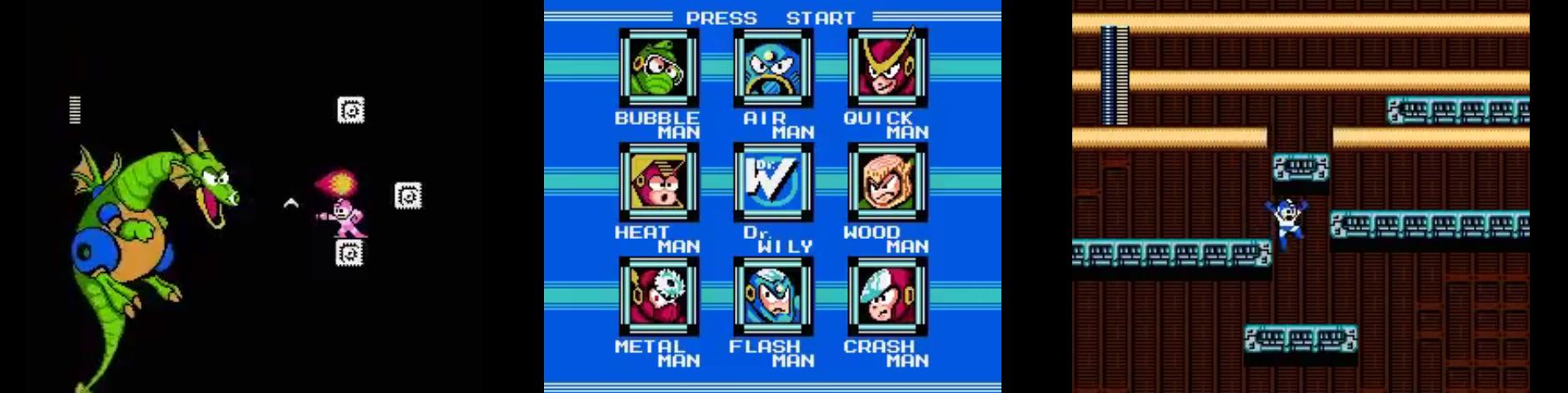 przegląd megaman na NES pegasus