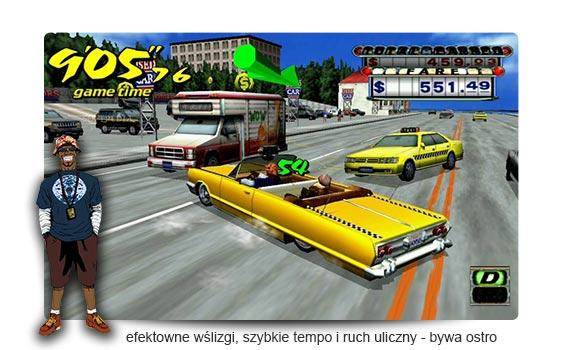 crazy taxi recenzja