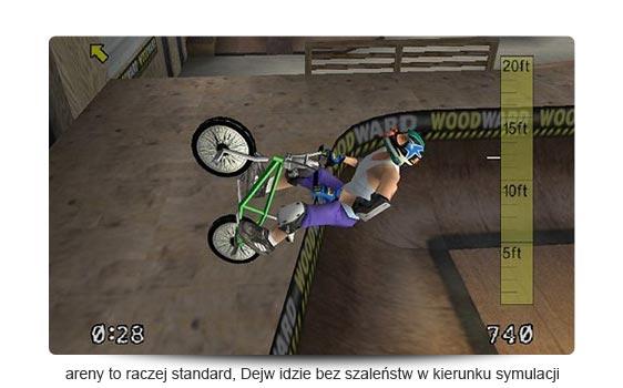 Dave Mirra Freestyle BMX recenzja