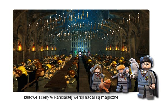 LEGO Harry Potter 1-4 recenzja