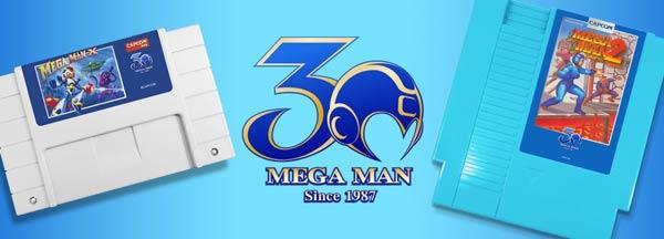 mega man 30 anniversary