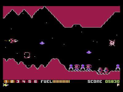 Scramble Atari