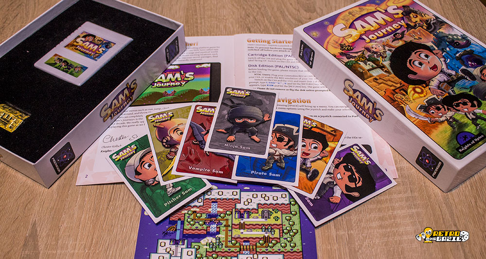 Sam's Journey C64