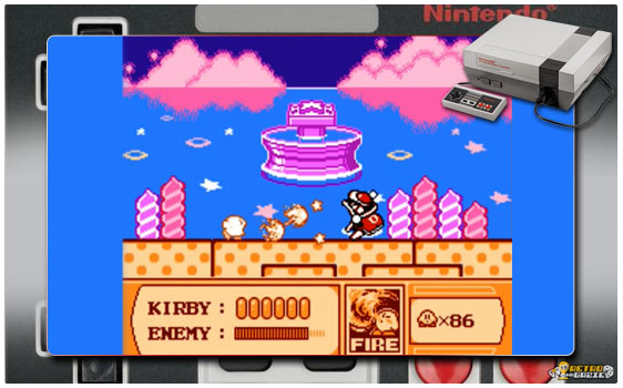 Kirby's adventure NES