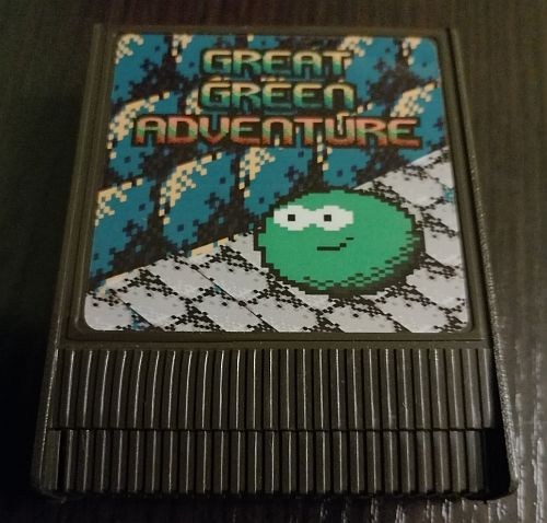 Great Green Adventure Atari Cartridge