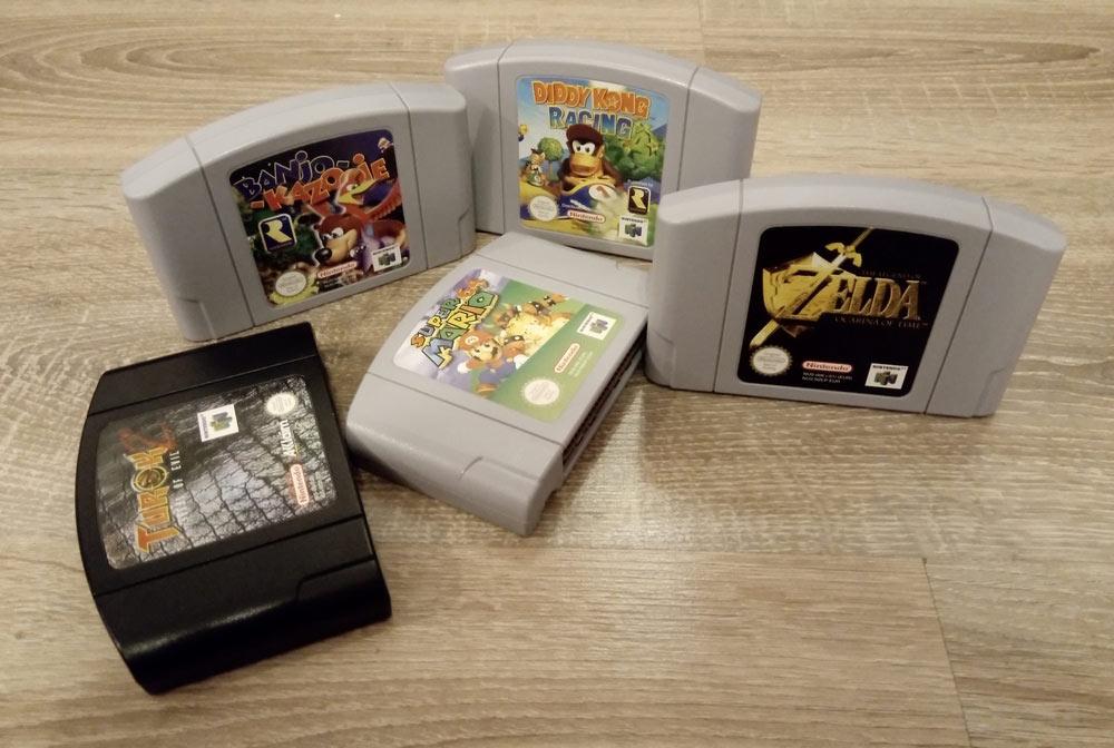 5 gier ze strychu na Nintendo 64