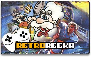 Panic Restaurant Rollergames NES