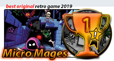 Gala RnG 2019 best retro games 2019 Micro Mages