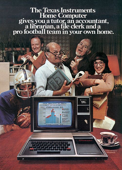 Texas Instruments Funny Poster