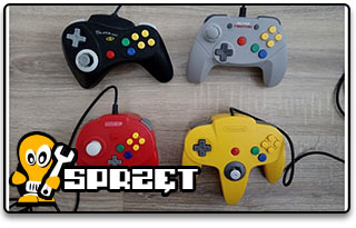 N64 controllers test