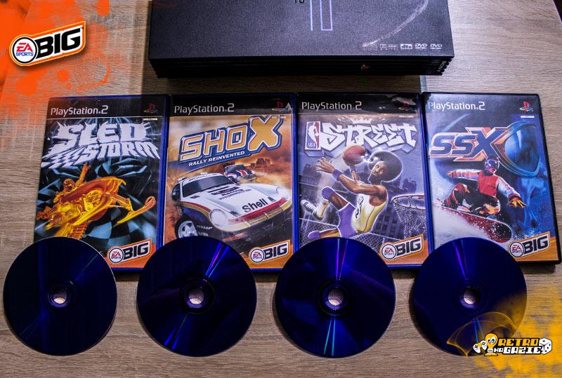 EA Sports BiG CD games
