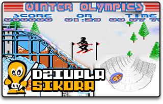 atari xe/xl winter games