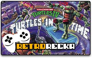 TMNT IV Turtles in Time (SNES)
