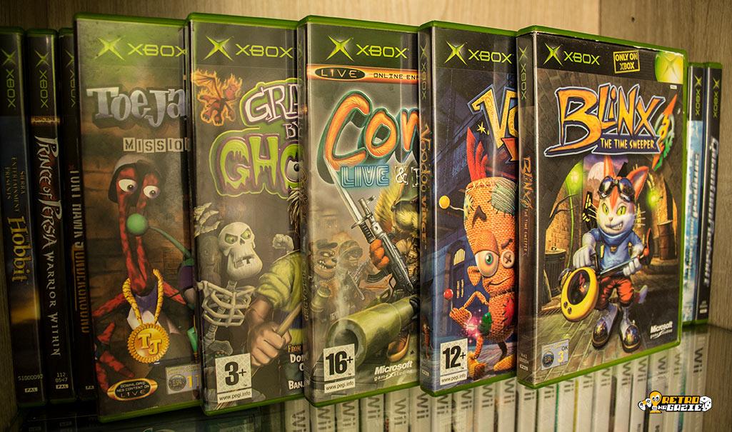 Xbox platformery dziwolągi