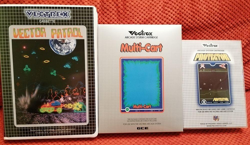 Vectrex Games