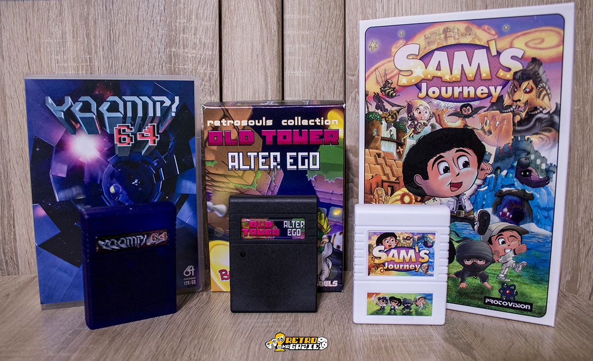 Old Tower Alter Ego Commodore 64 bobr games