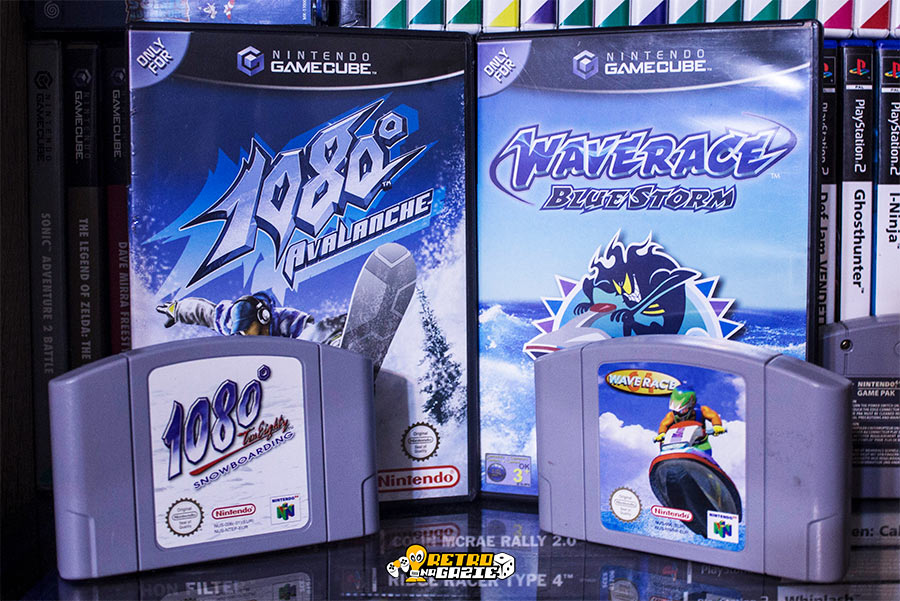 1080 and wave race nintendo extreme