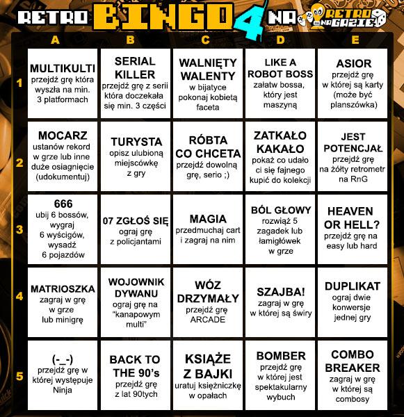 tabela retro bingo 4