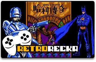 Harry Legend, Robocop 2, Batman Return of The Joker (NES)