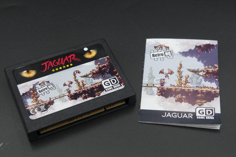 GameDrive od RetroHQ dla Atari Jaguara