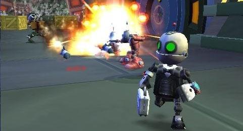 Secret Agent Clank (PSP, PlayStation 2)