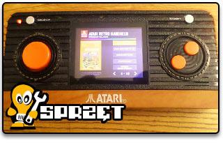 ATARI Handheld Retro Console, czyli A2600 w kieszeni!